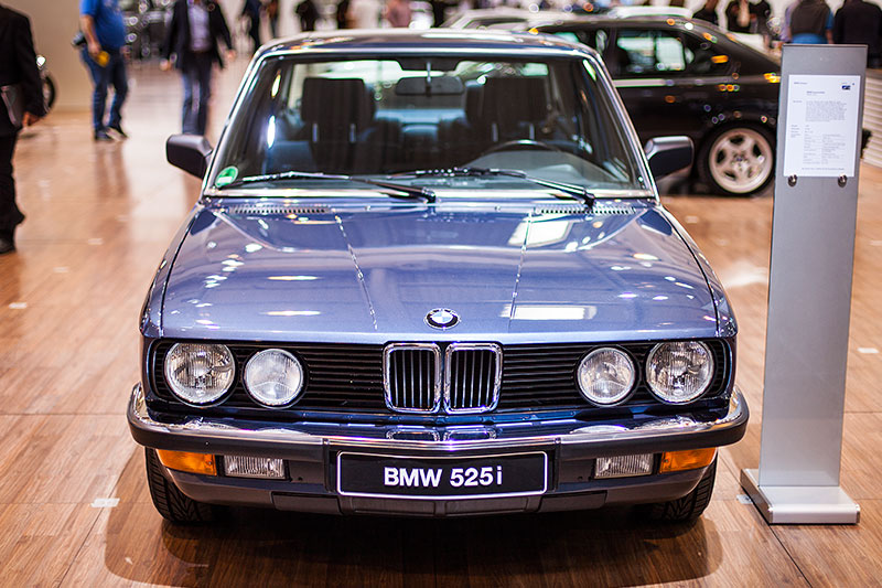 BMW 525i auf der Techno Classica 2015