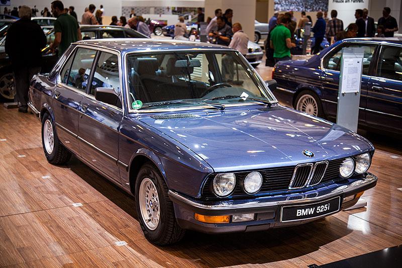 BMW 525i, Baujahr 1985, Stückzahl: 54.063