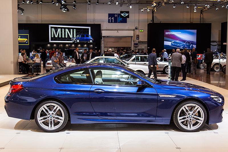 BMW 650i xDrive mit V8 BiTurbo Motor, 450 PS