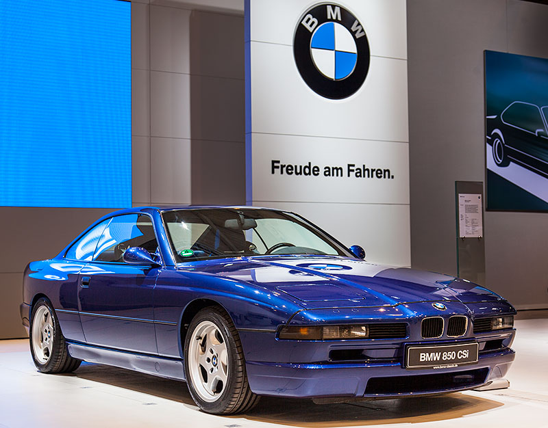 BMW 850CSi auf der Techno Clasica 2015