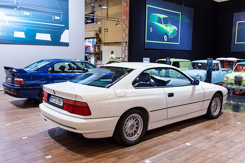 BMW 850i von Marcel Herbig auf der Techno Classica 2015