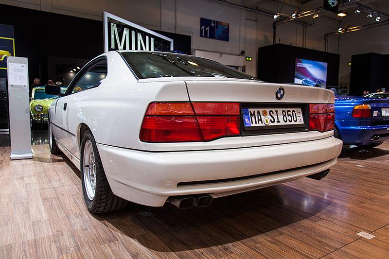 BMW 850i, serienmäßig mit 4-Gang-Automatik-Getriebe