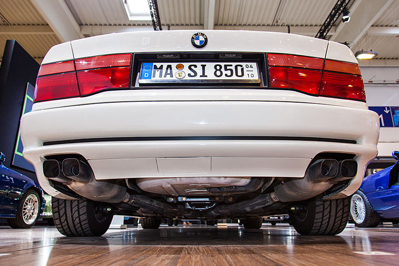 BMW 850i, ausgestellt vom BMW 8series Club, ClubE31 Worldwide Owners Group e.V.