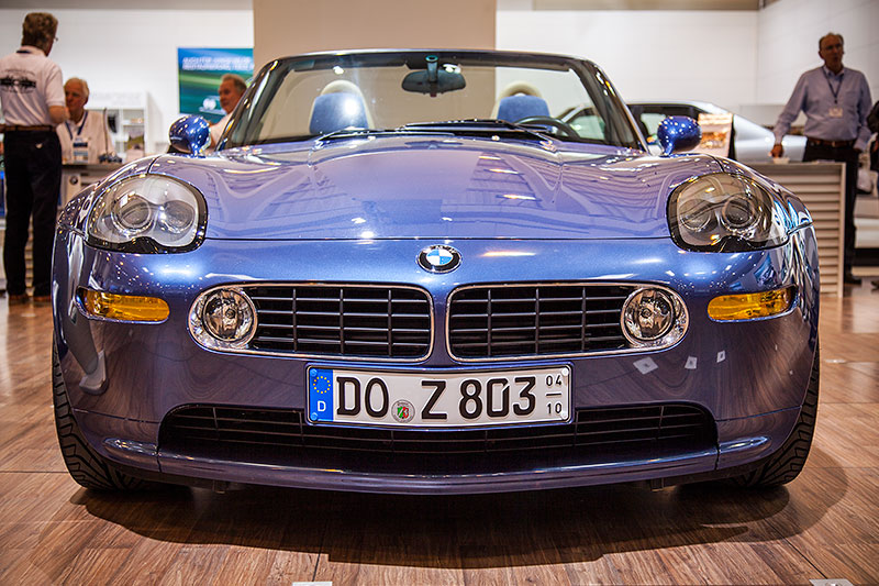 BMW Alpina Z8, mit V8-Motor aus dem M5, Leistung auf 380 PS reduziert