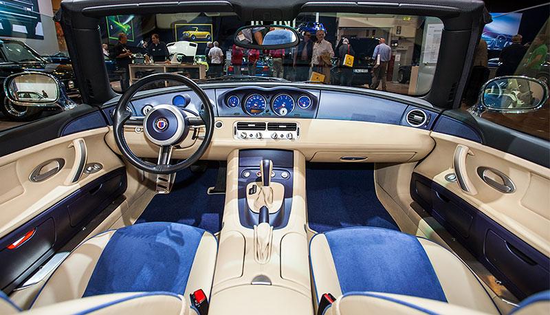 BMW Alpina Z8, Interieur