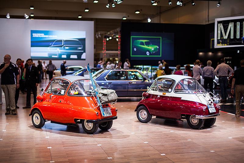 BMW Isetta 300 Standard von Rainer Klein (links) und Gerhard Waldeyer
