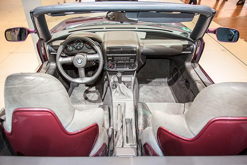 BMW Z1, Innenraum