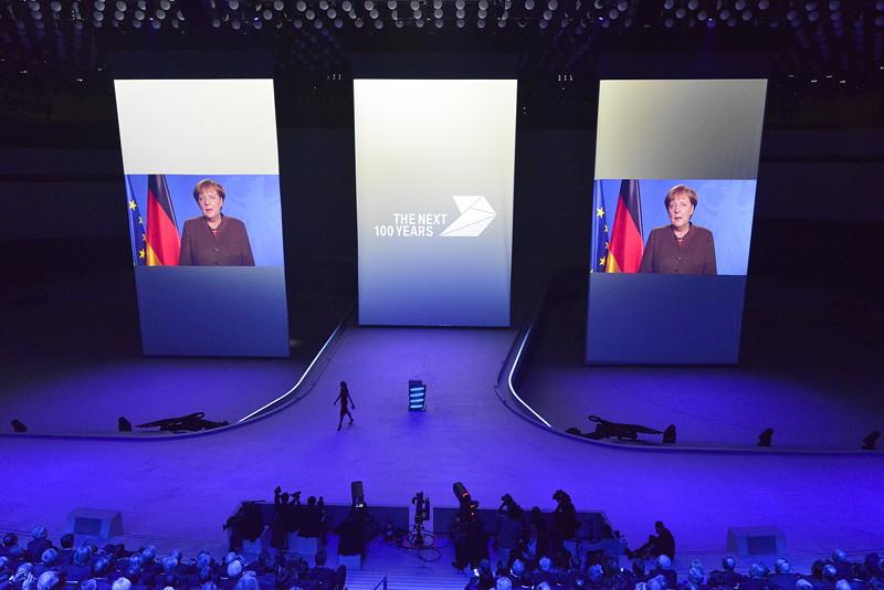 Videobotschaft von Bundeskanzlerin Dr. Angela Merkel.