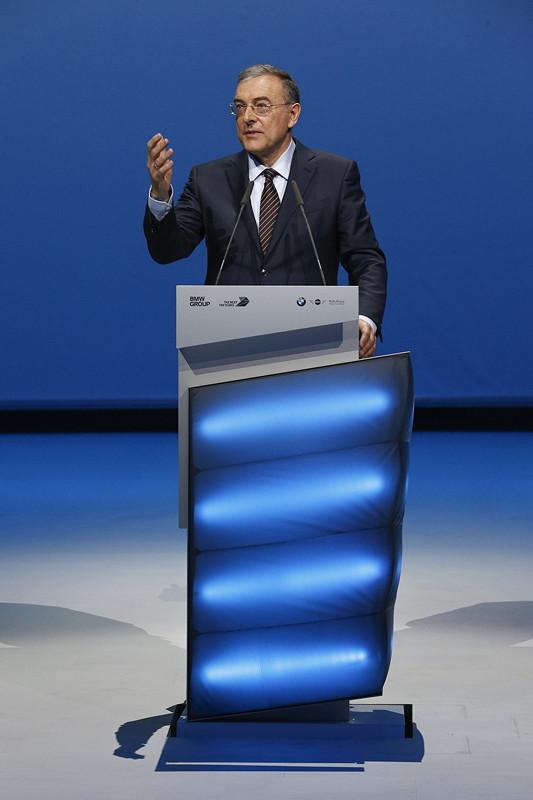Dr.-Ing. Dr.-Ing. E.h. Norbert Reithofer, Vorsitzender des Aufsichtsrats der BMW AG.