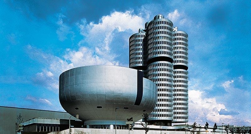 BMW Hochhaus und BMW Museum