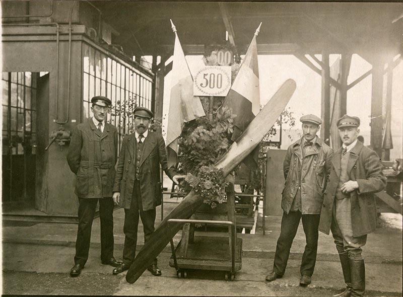 Produktionsjubiläum BMW IIIa 1918