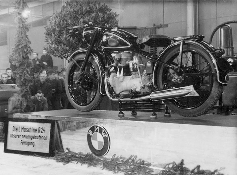 BMW R 24, 1948