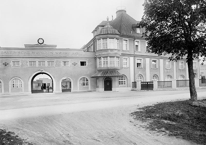 BMW Werk Milbertshofen, 20er Jahre