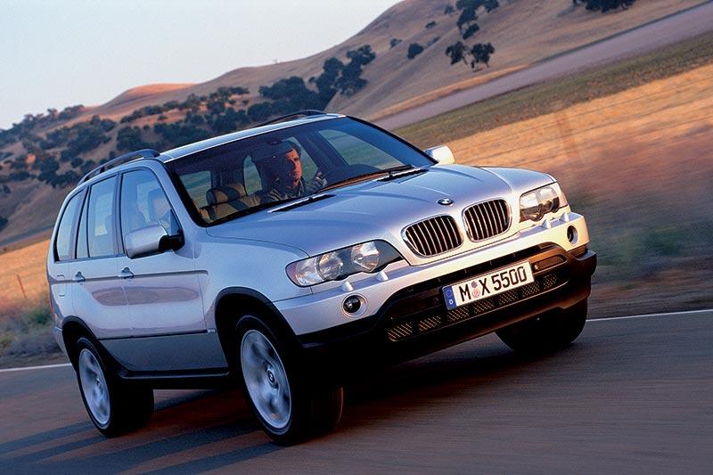 BMW X5 4.4i, erstes BMW X-Modell, erste BMW X5-Generation (Modell E53)