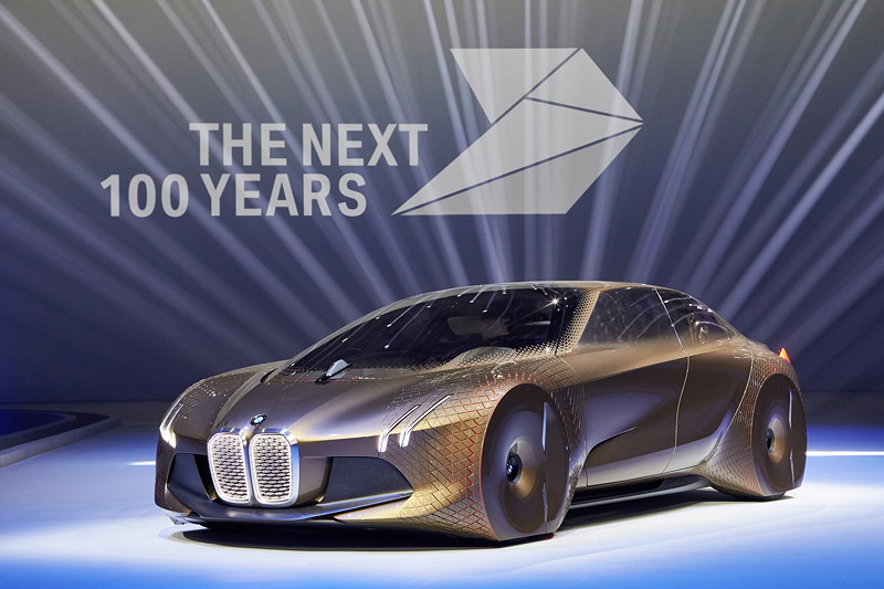 Das BMW VISION NEXT 100.