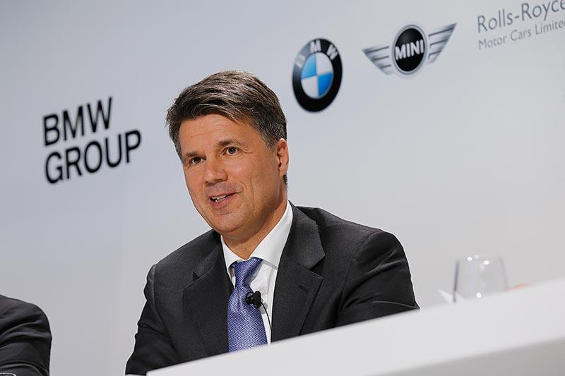 Harald Krüger, Vorsitzender des Vorstands der BMW AG.