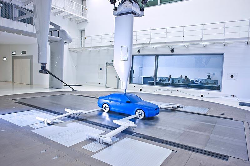 Modellwindkanal Aerodynamisches Versuchszentrum