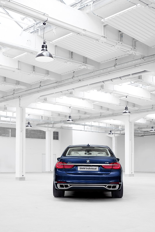 BMW Individual M760Li xDrive Modell V12 Excellence THE NEXT 100 YEARS - Exterieur
