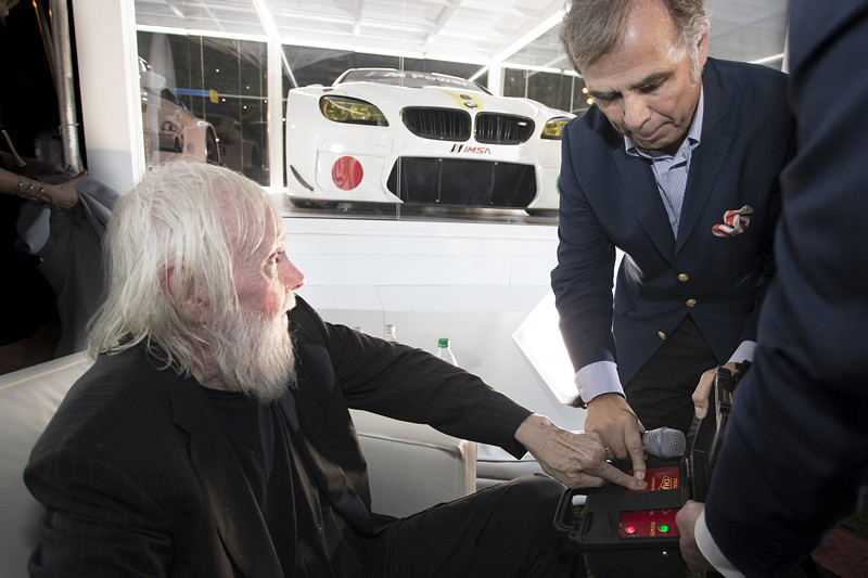 Das 19. BMW Art Car von John Baldessari - Weltpremiere im Botanical Garden, Miami Beach
