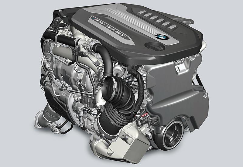 BMW TwinPower Turbo Reihen-6-Zylinder Dieselmotor mit 400 PS und 760 Nm
