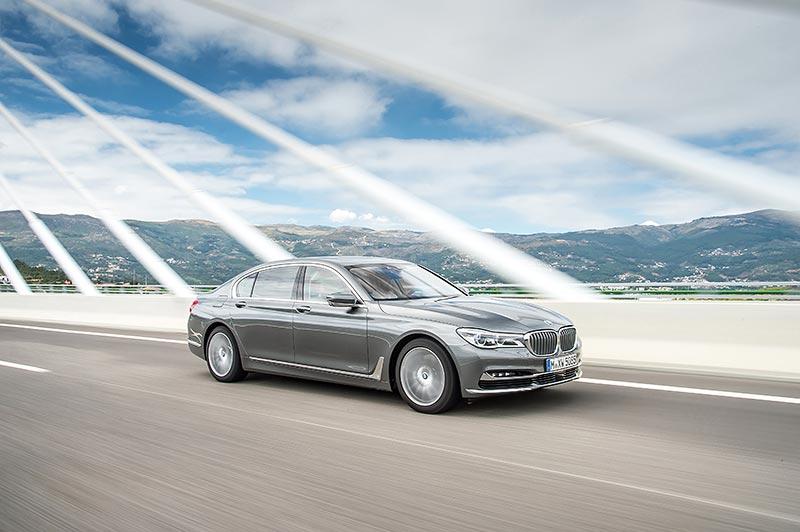 Der neue BMW 7er, ab Juli auch mit 400 PS starkem Quad-Turbo-Dieselmotor erhältlich.