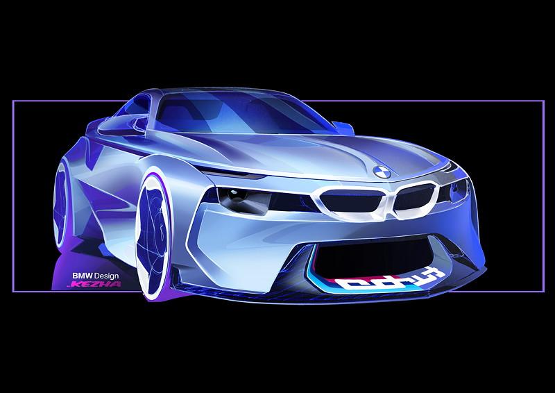 BMW 2002 Hommage, Designskizze