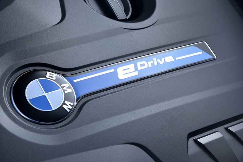 BMW 530e iPerformance, 4-Zylinder Benzinmotor mit 184 PS