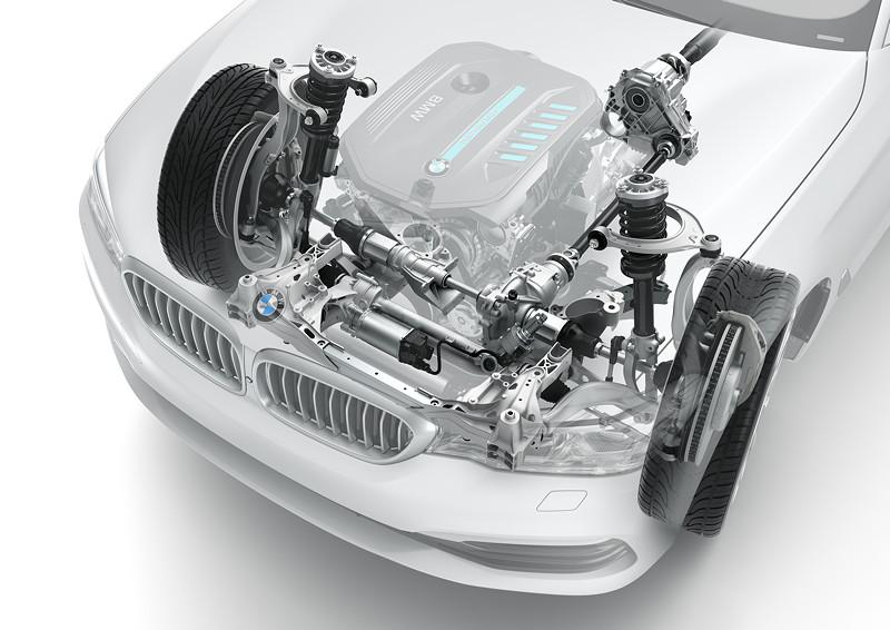 BMW 540i xDrive Limousine, Technik