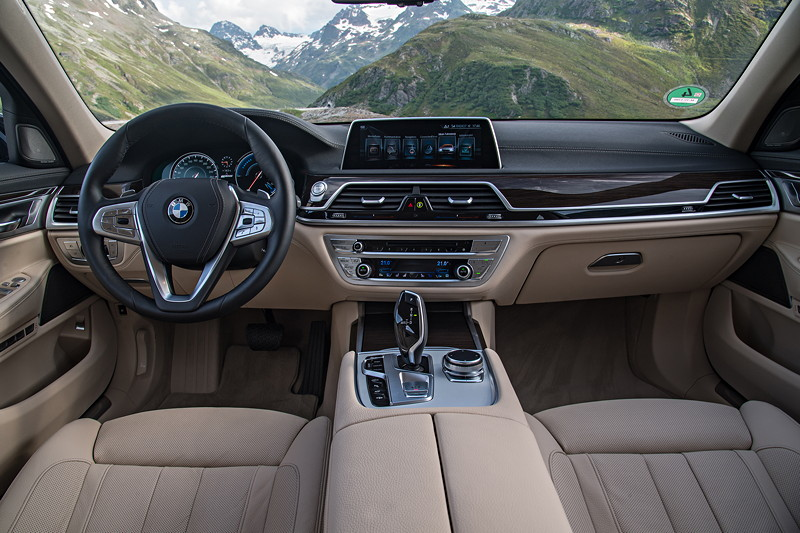 BMW 740Le xDrive iPerformance, Interieur vorne