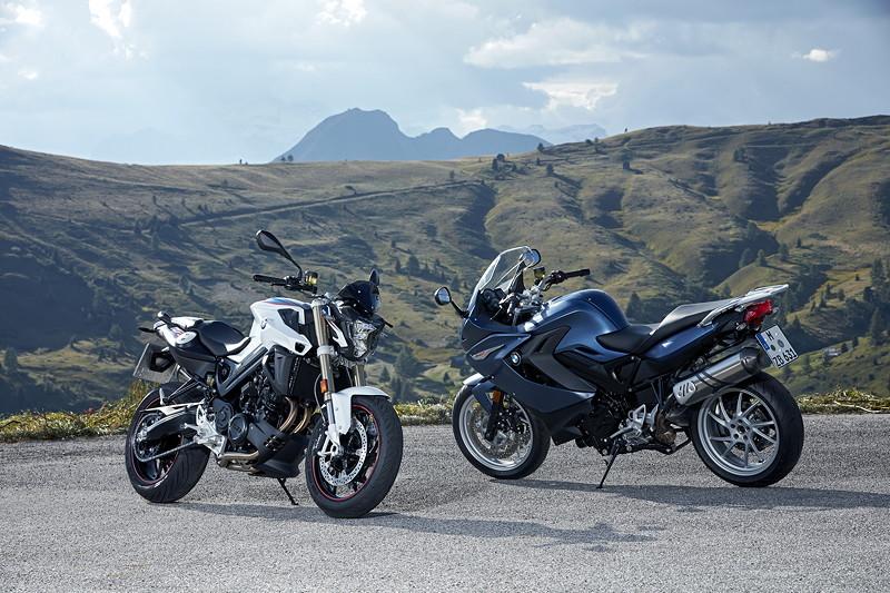 BMW F 800 R und BMW F 800 GT