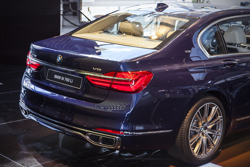 BMW M760Li Performance Individual in der BMW Welt