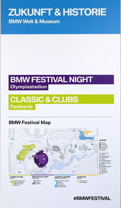 BMW Festival: Karte