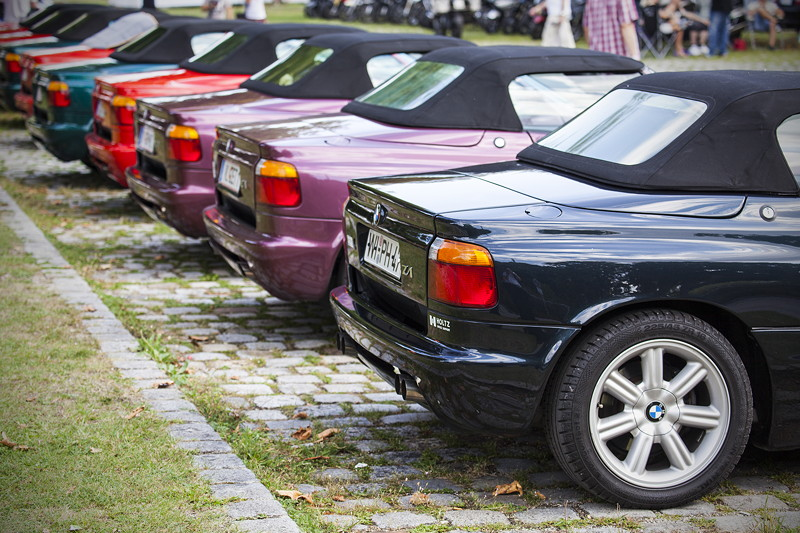 BMW FestivalBMW Clubs in der Parkhafe im Olympiapark: BMW Z1