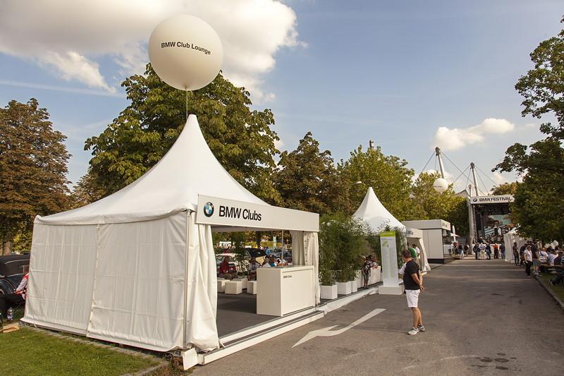 BMW Clubs beim BMW Festival