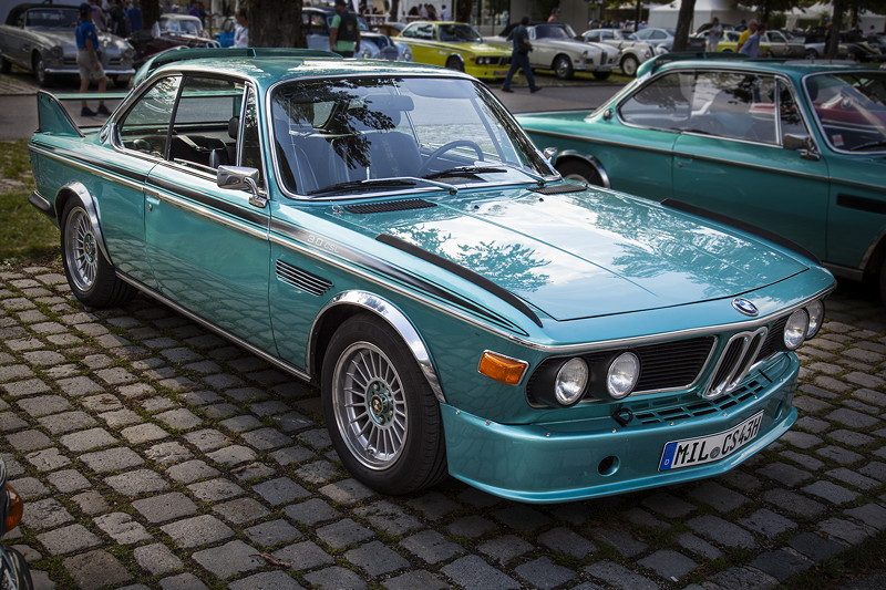 BMW Clubs in der Parkharfe im Olympiapark: BMW 3,0 CSL