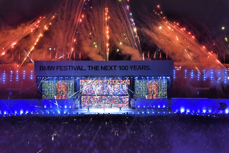 Der Höhepunkt des BMW Festivals: dieBMW FESTIVAL NIGHT im Olympiastadion