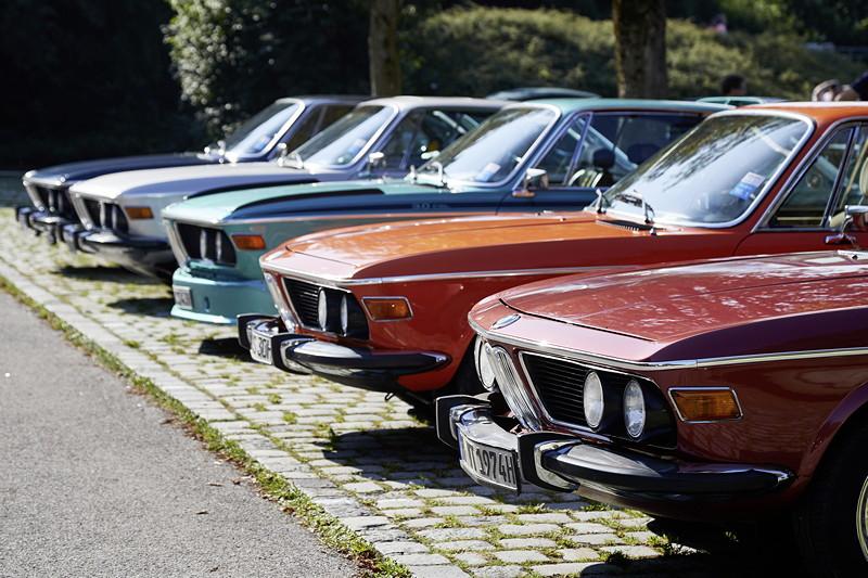 BMW Festival. BMW Clubs in der Parkharfe im Olympiapark: BMW Coupés