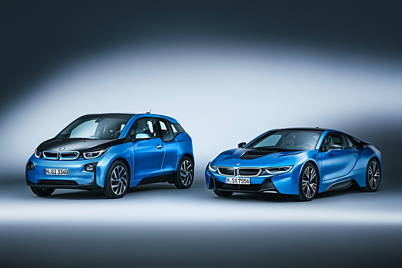BMW i3 (94 Ah) und BMW i8