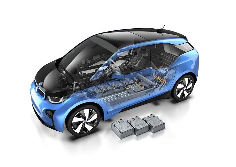 BMW i3 (94 Ah), einzelne Batteriezellen