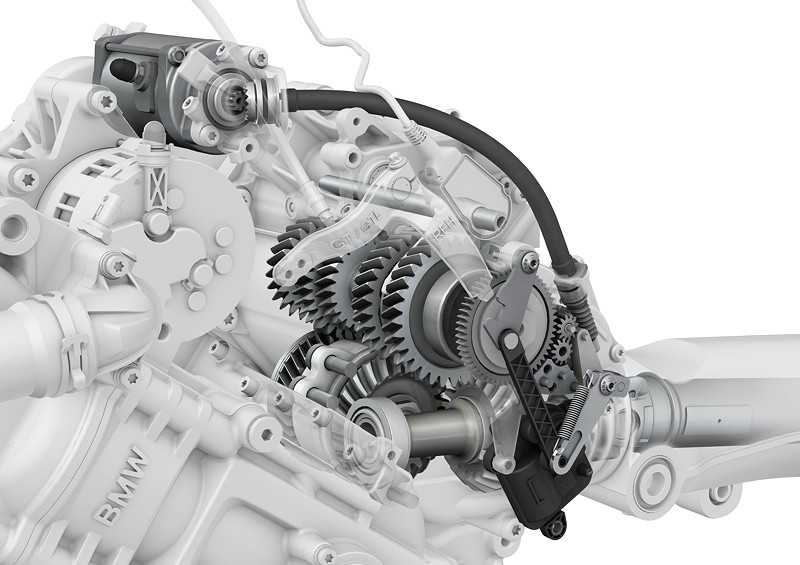 BMW K 1600 GT, Rückfahrhilfe