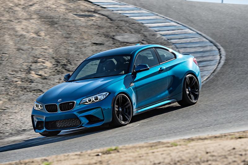 BMW M2 auf der Rennstrecke