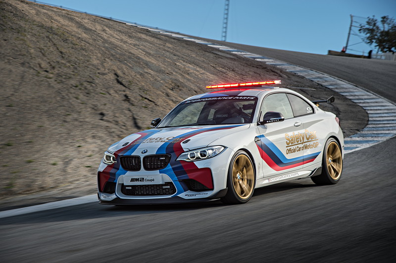 BMW M2 MotoGP Safety Car, Laguna