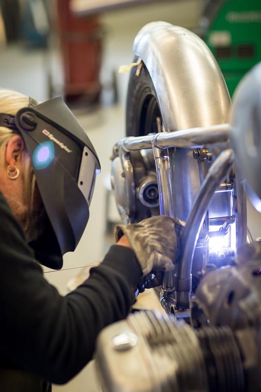 BMW Motorrad R 5 Hommage. Making of.
