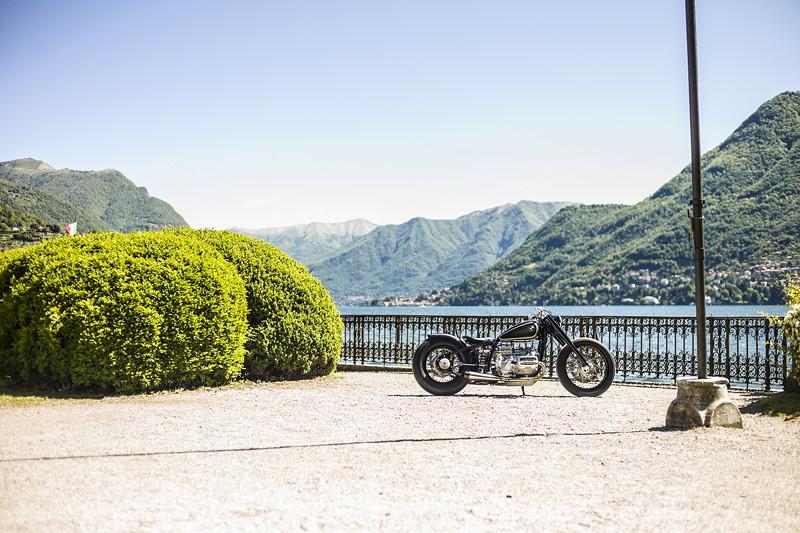 BMW Motorrad R 5 Hommage. On location: Concorso d'Eleganza Villa d'Este.