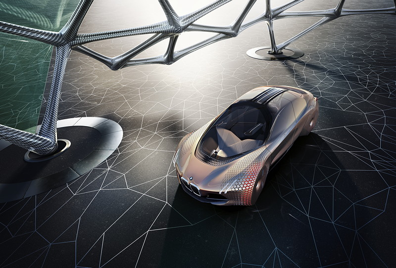 BMW VISION NEXT 100, Artwork