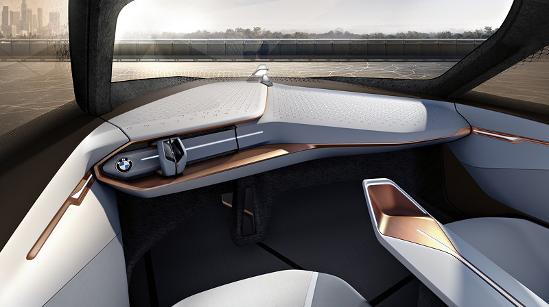 BMW VISION NEXT 100, Interieur