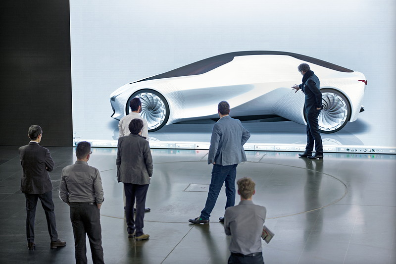 BMW VISION NEXT 100, Design