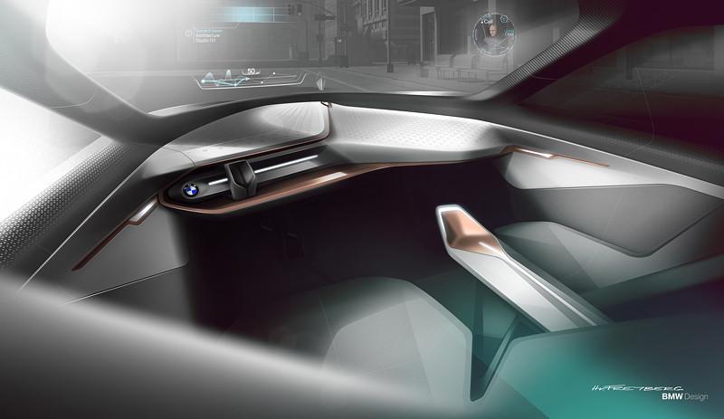 BMW VISION NEXT 100, Designzeichnung