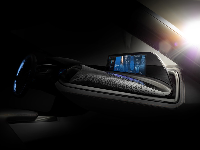 BMW i Vision Future Interaction.