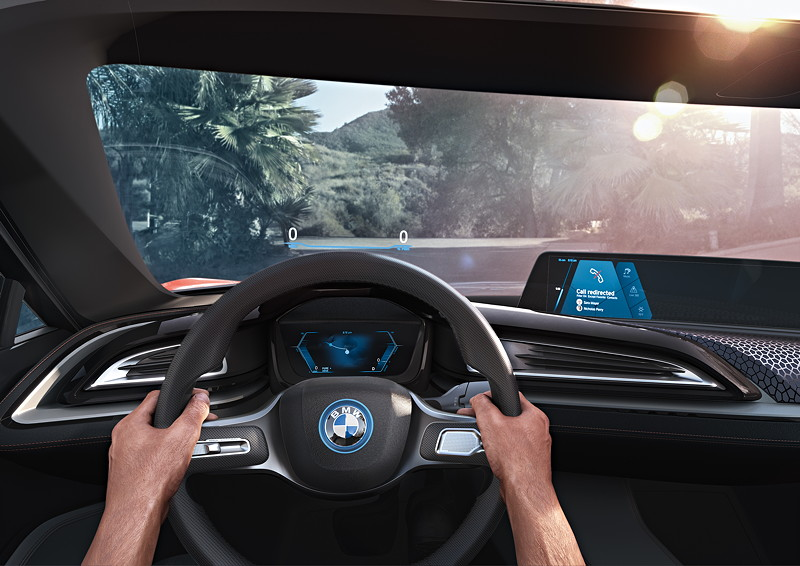 BMW i Vision Future Interaction.